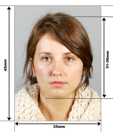 Polish Passport Photo